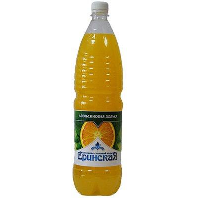 Еринская Апельсиновая долька 1,5л. пэт (6шт)
