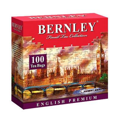 Чай Bernley English Premium (100пак.)