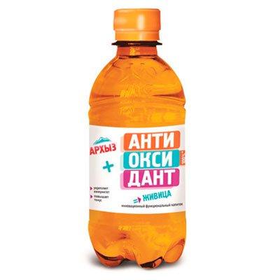 Архыз + Антиоксидант = Живица 0.33 литра, пэт, 12шт. в уп.