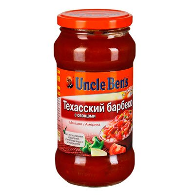 Соус Uncle Bens техасский барбекю 500гр (1шт)
