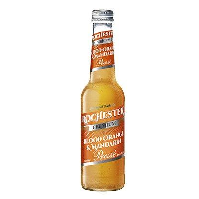 Безалкогольный газированный напиток Rochester Premium Blood Orange & Mandarin Presse (275 мл)