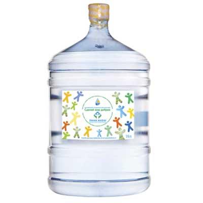 Вода Сделай Мир Добрее 19 литров