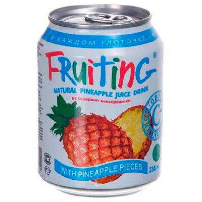 Фрутинг ананас 0,238л (24шт.)