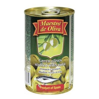 Оливки с тунцом Maestro De Oliva 300гр (2шт)