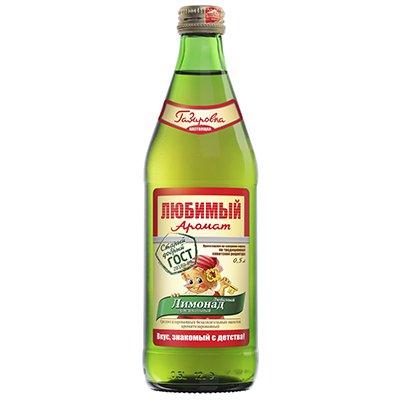 Любимый аромат Буратино Оригинальный 0,5л стекло (20шт)