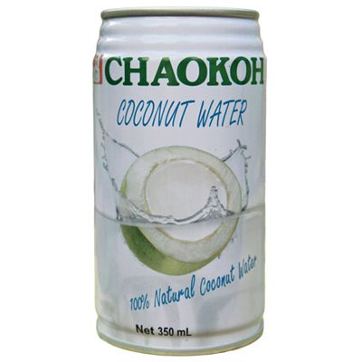 Chaokoh натуральная кокосовая вода 0,35л ж/б (24шт)