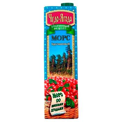 Чудо-ягода брусника 1,0л (12шт.)