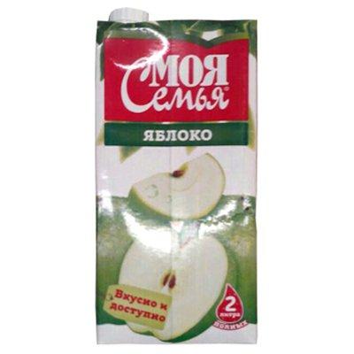 Моя семья Зеленое яблоко 2л (6шт.)