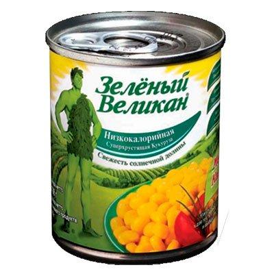 Кукуруза Зелёный великан 198 гр (4шт)