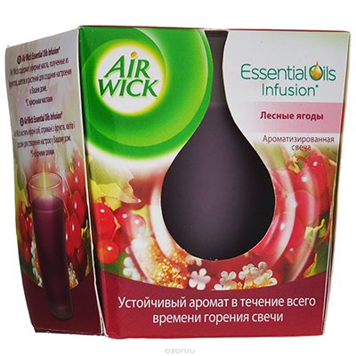Ароматизированная свеча Air Wick Лесные ягоды 105г. (1шт)
