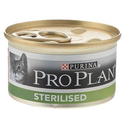 Корм для кошек Pro Plan лосось тунец (85гр) (24шт)