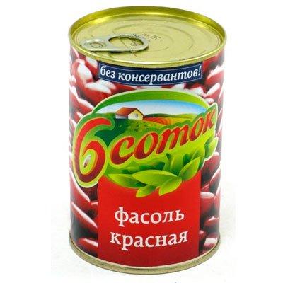 Фасоль красная Шесть соток 400гр (1шт)