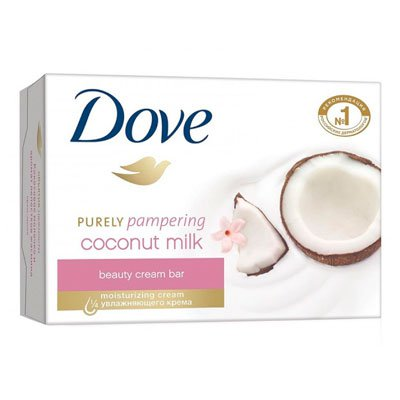 """Мыло-крем """"Dove"""" кокос+жасмин 135гр (3шт)"""