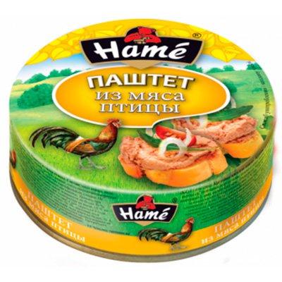 Паштет из мяса птицы Hame 250гр. (2шт)