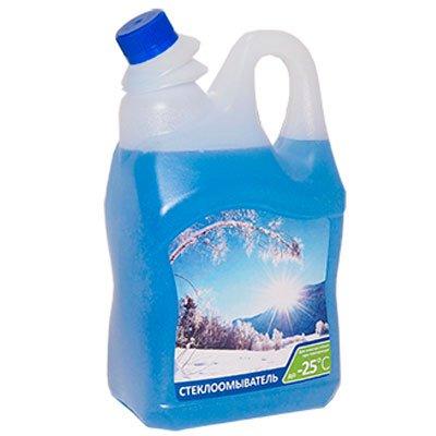 Стеклоомывающая жидкость Long Way зима 4,0л (1шт)