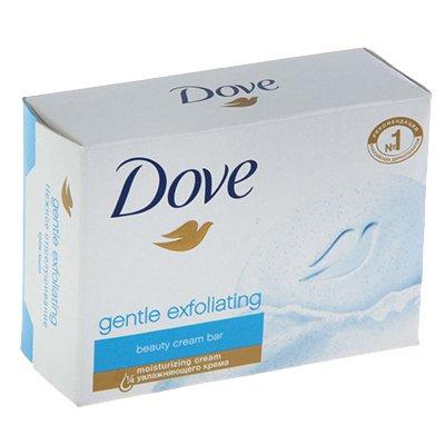 Мыло-крем Dove нежное отшелушивание 135г (3шт)
