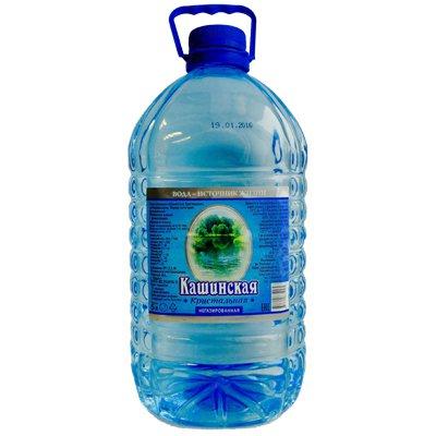 Вода Кашинская Кристальная 5 литров, 2шт. в уп.