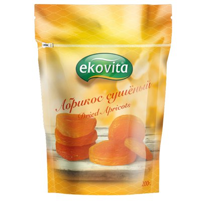 Абрикос сушеный Ekovita 200гр
