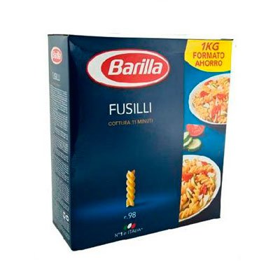 Фузили Barilla 1кг.