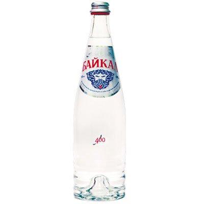 Вода Байкал 0.75 литра, без газа, стекло, 6шт. в уп.
