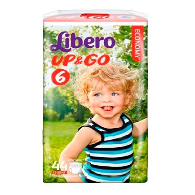 Подгузники Libero Up&Go extra large 11-25 кг (5) 44шт