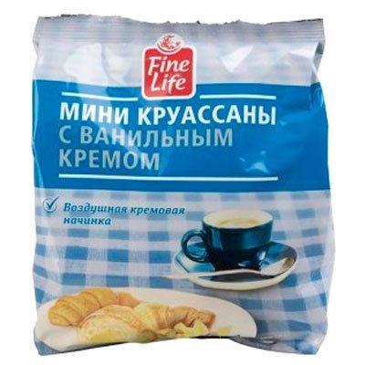 """Круассаны """"Fine food"""" ваниль 200г"""