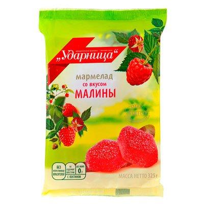 Мармелад Ударница малина 325 гр (2шт.)