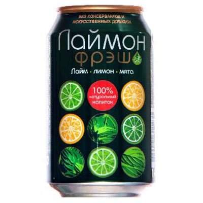 Laimon fresh / Лаймон фреш 0,33л ж/б (24шт)