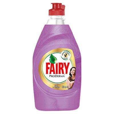 Средство для мытья посуды Fairy ProDerma шелк и орхидея 450 мл.