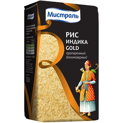 Рис Мистраль индика голд 1 кг.