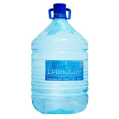 Вода Еринская+ 19 литров в одноразовой таре