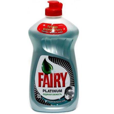 """Средство для мытья посуды """"Fairy"""" ледяная свежесть 0,48 л (1шт)"""
