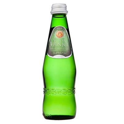 Вода Врынци / Vrnjci 0.33 литра, газ, стекло, 12шт. в уп.