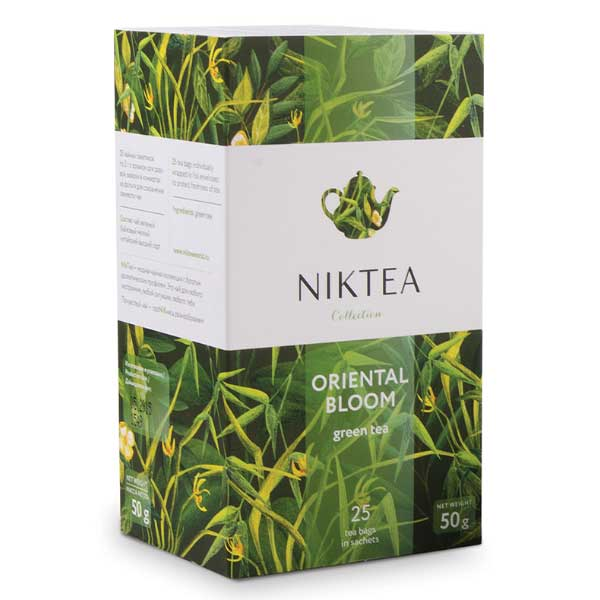 Чай Niktea Oriental Bloom зеленый 25 пак