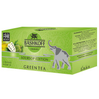 Чай зеленый Bashkoff Tea Green Soursop Edition 25 пак