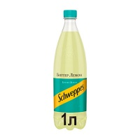 Schweppes / Швепс Bitter Lemon 1 литр, пэт, 12 шт. в уп.