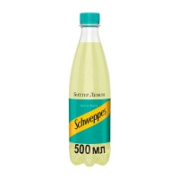 Schweppes / Швепс Bitter Lemon 0.5 литра, пэт, 24 шт. в уп.