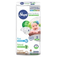 Подгузники Sleepy Natural Mini 3-6кг 42шт