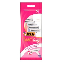 Одноразовые станки Bic Twin Lady Sensitive 5 шт.