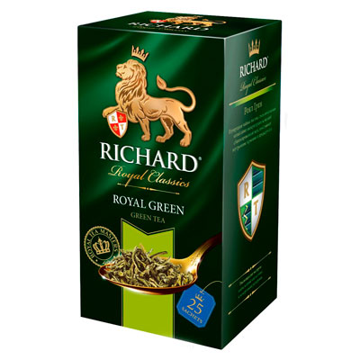 Чай Richard Royal Green 25 пак