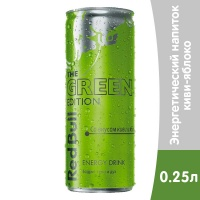 Red Bull Green Edition 0.25 литра, ж/б, 24 шт. в уп.