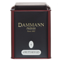 Чай черный Dammann Freres Quatre Fruits Rouges 100 гр